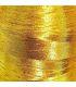 broderie cœur fil doré
