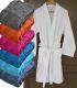 Peignoir col kimono 100% coton 400g/m²