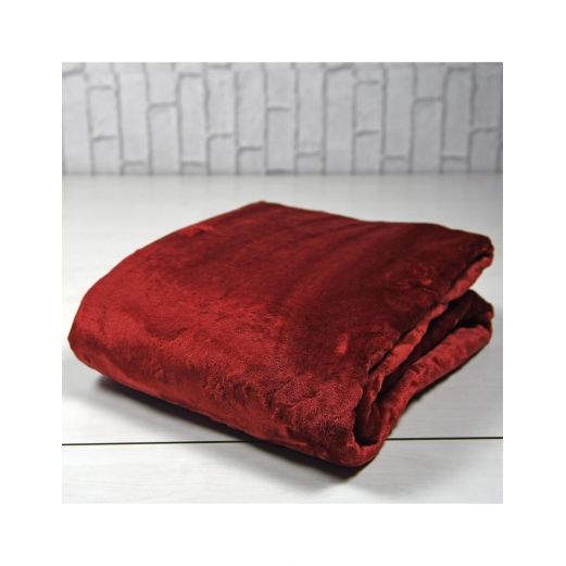 Plaid Polaire microfibre 380gr/m² Carbone