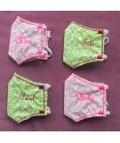 Pack 2 masques junior rose + pochon de transport