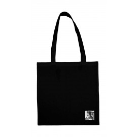 Tote bag noir BIO coin BY RAMZI SAIBI