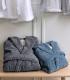 Peignoir enfant 100% coton bio 450g/m²