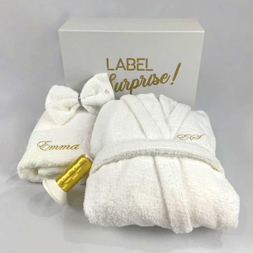 Coffret Label Surprise Ensemble Peignoir Bio
