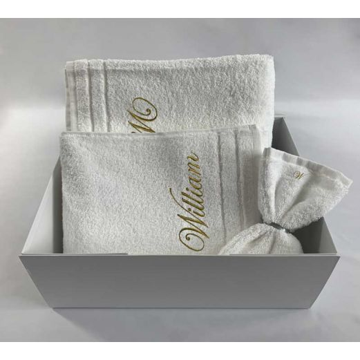 Coffret Serviettes 650g/m²