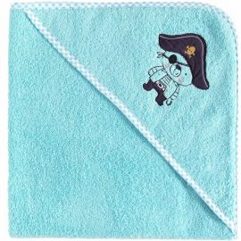 Cape de bain Ours Pirate 100% coton