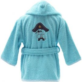 Peignoir de bain Ours Pirate 100% coton
