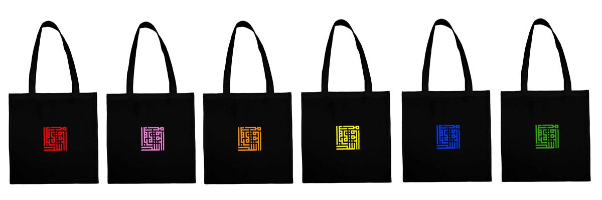 Tote bag CUSTOM BY RAMZI SAIBI